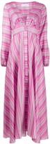 Giada Benincasa abstract print puff sleeved dress