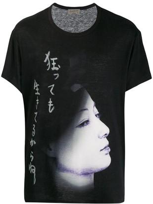 Yohji Yamamoto graphic print T-shirt