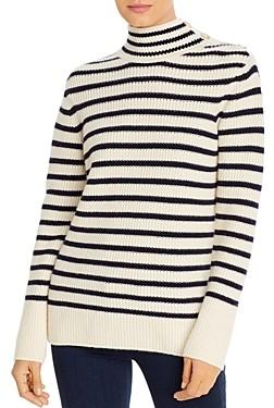 Tory Burch Striped Wool & Cashmere Sweater
