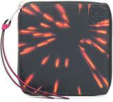 Loewe firework print square wallet