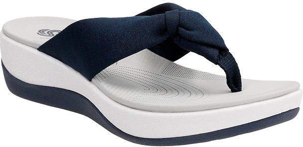 9b29307341ea Clarks Women Flip Sandal - ShopStyle