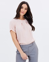 Mng Pliegues Blouse