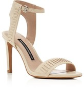 French Connection Linna High Heel Ankle Strap Sandals