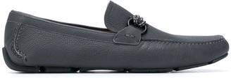 Salvatore Ferragamo Gancini moccasin driver shoes