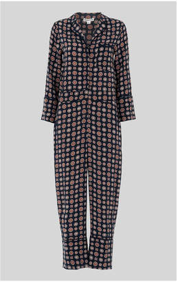Whistles Molly Tile Print Jumpsuit