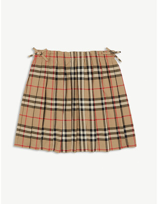 Burberry Pearly pleated skirt 3-14 years