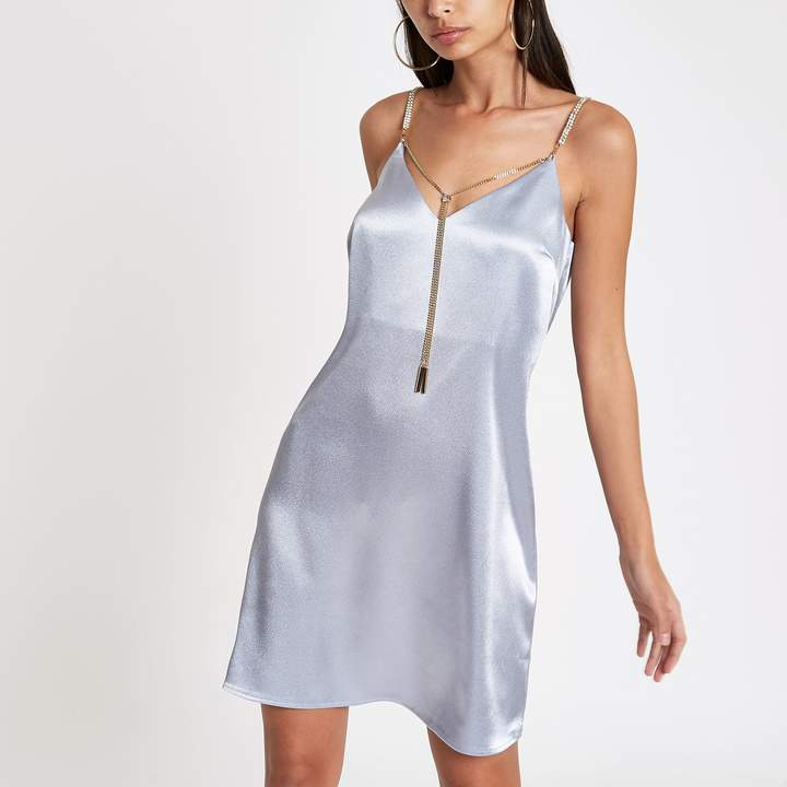 00e67120dbcf Blue Slip Dress - ShopStyle UK