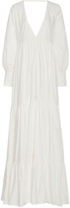 Kalita Circle Day Cotton Maxi Dress