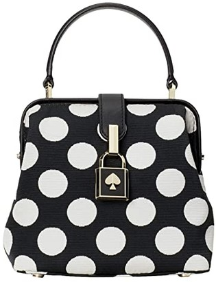 Kate Spade Remedy Bikini Dot Small Top-Handle (Black Multi) Handbags