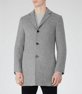Reiss Zen Wool Mix Overcoat