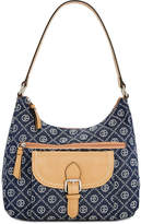 Giani Bernini Signature Chain Medium Hobo, Created for Macy's