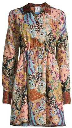M Missoni Paisley Silk Shirtdress