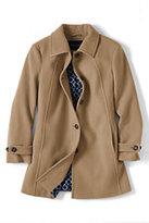 Classic Women's Plus Size Luxe Wool Swing Coat-Vintage Violet