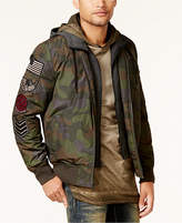 American Rag Men's Camo Bomber Jacket, Created for Macy's