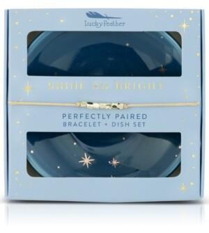 Lucky Feather Shine So Bright Bracelet & Dish Set - Star