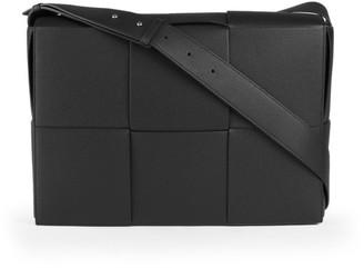 Bottega Veneta Woven Leather Messenger Bag
