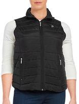 MICHAEL Michael Kors Plus Zip-Front Puffer Vest