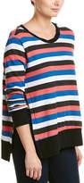 Pam & Gela Striped Sweatshirt