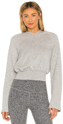 Beyond Yoga Let's Smock About It Cropped Hoodie