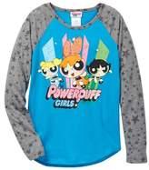 Jerry Leigh Powerpuff Girls Long Sleeve Raglan Shirt (Little Girls & Big Girls)