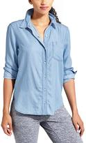 Athleta Bootjack Chambray Shirt