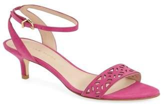 Pelle Moda Otis Ankle Strap Kitten Heel Sandal
