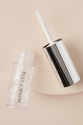 Winky Lux Snowflake Lip Oil Holiday Ornament By in White