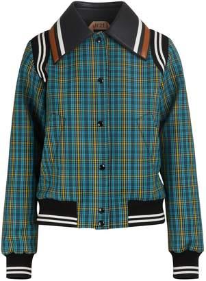 N°21 N 21 Wool-blend bomber jacket