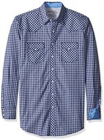 Wrangler Men's Big and Tall 20x Competition Advanced Comfort Two Pocket Long Sleeve Snap Shirt