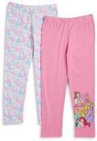Nannette Girls 2-6x Two-Pack Princess Leggings Set