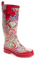 Sakroots Women's 'Rhythm' Waterproof Rain Boot