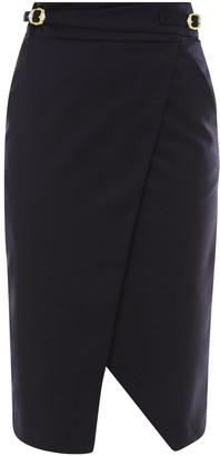 L'Autre Chose High Waist Pencil Skirt