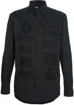 KTZ embroidered patch shirt