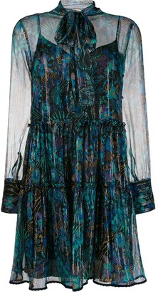 See by Chloe Floral Fireworks Mini Dress