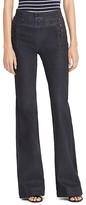 Lauren Ralph Lauren Sailor Flare Jeans in Blackened Indigo