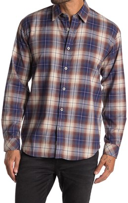 Coastaoro Freddler Regular Fit Long Sleeve Plaid Shirt