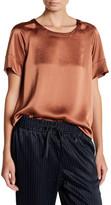 DKNY Short Sleeve Scoop Neck Shirt