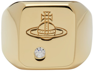 Vivienne Westwood Gold Carlo Ring
