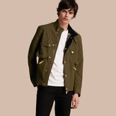 Burberry Diamond Quilt Detail Technical Jacket