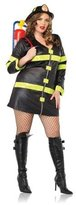 Leg Avenue Fire Woman Costume - Plus Size - Dress Size 16-20