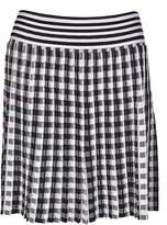 Sonia Rykiel Checkered Mini Skirt