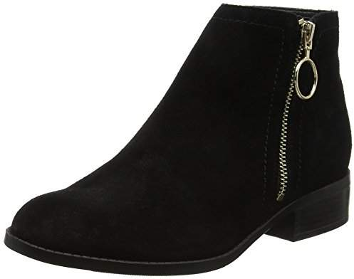 New Look 915 Girls' Allie Suede Ankle Boots,(38 EU)