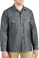 Dickies Button-Up Chambray Shirt - Big & Tall