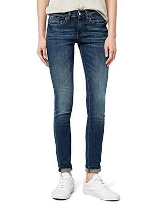 Tom Tailor Women's Skinny Alexa Jeans, Blue (dark stone wash denim), W33/L32 (Manufacturer size: 33)