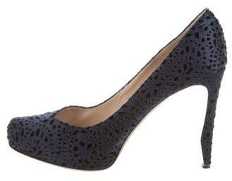 Nicholas Kirkwood Patterned Pointed-Toe Pumps