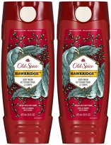 Old Spice Wild Body Wash - Hawkridge - 16 oz - 2 pk