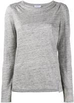 Frame long sleeved T-shirt - women - Linen/Flax - S