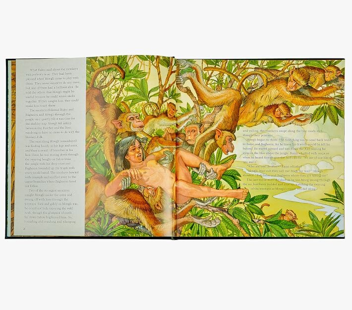 Thumbnail for your product : Pottery Barn Kids The Jungle Book Heirloom Book