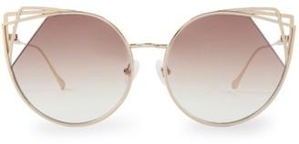 For Art's Sake Delta 58MM Cat Eye Sunglasses