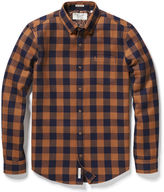 Original Penguin Waffle Buffalo Check Shirt